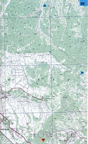Подробная топографическая
